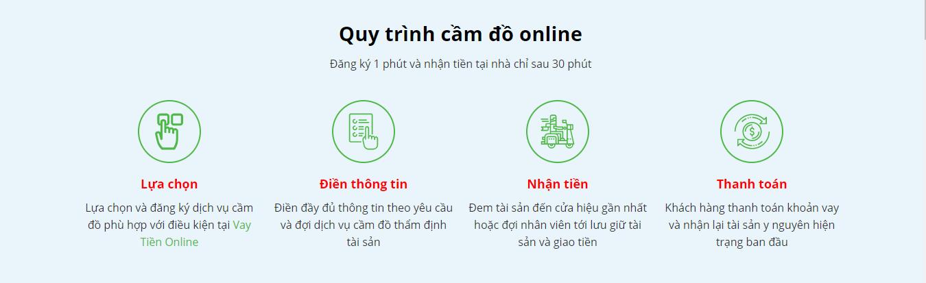 cầm đồ online