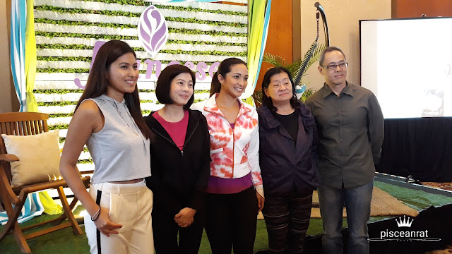 Christine (center) with the day's host Jeanine Tsoi and Jeunesse Anion officials.