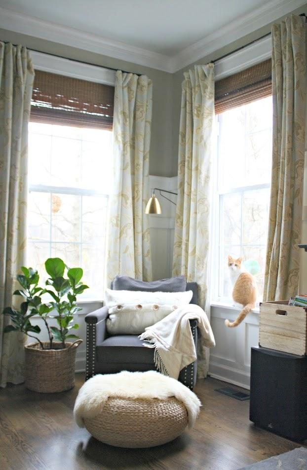 Corner with windows