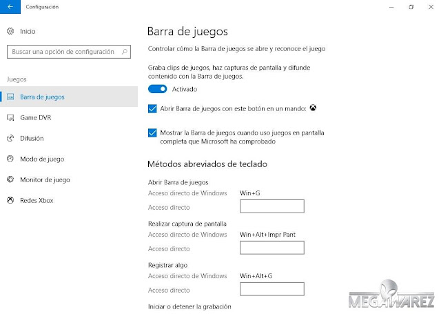 Windows 10 PRO Fall Creators Update imagenes