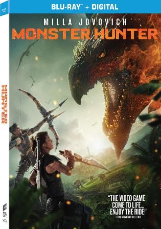 Monster Hunter 2020 BluRay 350Mb Hindi Dual Audio 480p