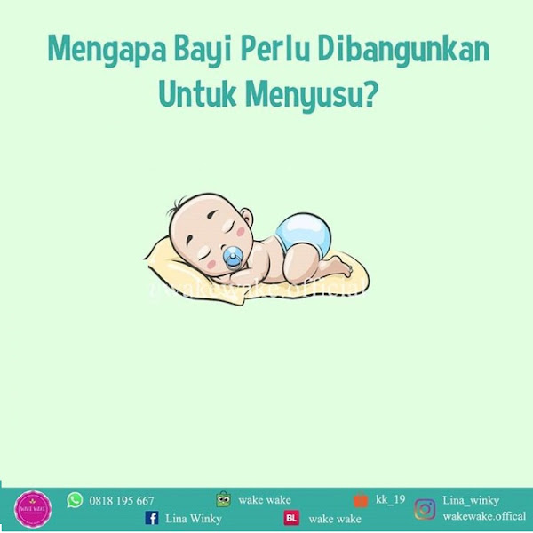 Kenapa Bayi Harus Dibangunkan untuk Menyusu?