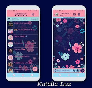 Flores Theme For YOWhatsApp & Fouad WhatsApp By Natalia Luz