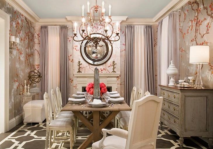 Corak Wallpaper Untuk Ruang Makan