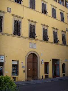 Casa Guidi in Florence, which has now been converted into a study centre