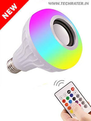 Colors changing LED Bulb with Bluetooth Speaker