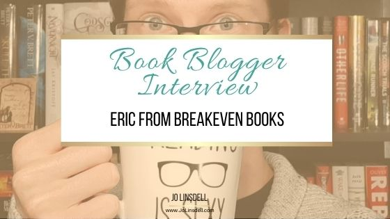 Book Blogger Interview Eric from Breakeven Books