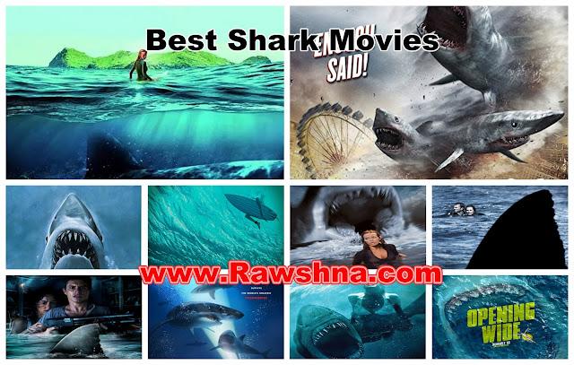 شاهد 10 أفضل أفلام القرش على الإطلاق  شاهد قائمة أفضل 10 أفلام القرش في العالم Best Shark Movies
