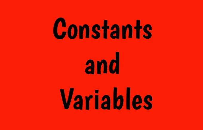 Constants and Variables in c in hindi