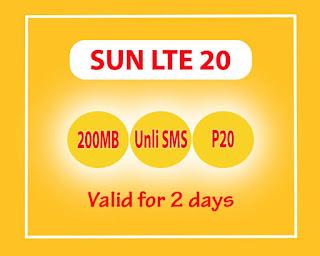 Sun Cellular LTE 20