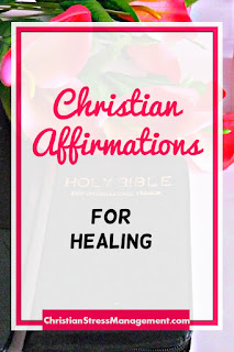 Christian affirmations for healing