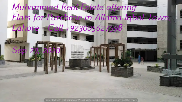 Muhammad Real Estate offering Flats for Purchase in Allama Iqbal Town