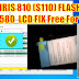 Download Lava iris 810 (S110) Flash File Led Fix Tested Firmware Free Download