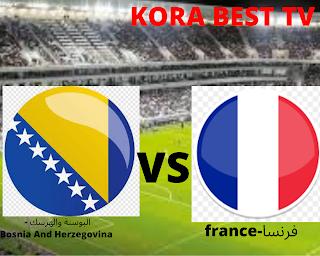 مشاهدة مباراة فرنسا والبوسنة والهرسك بث مباشر اليوم 01-09-2021 في تصفيات كاس العالم