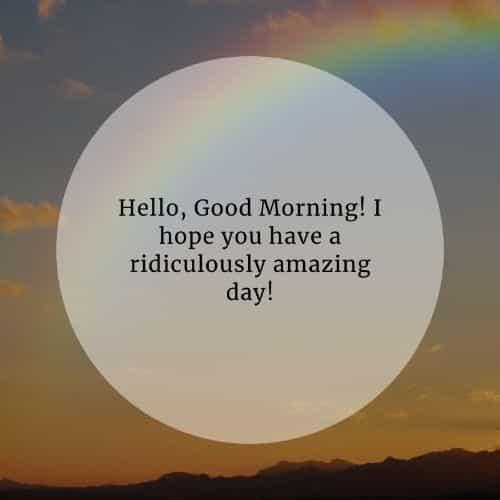 Morgen sms für ihn guten Schönen Guten