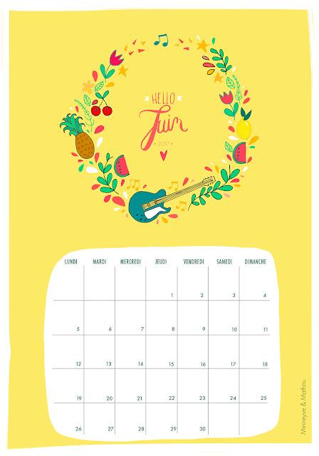 calendrier mathouchou juin 2017