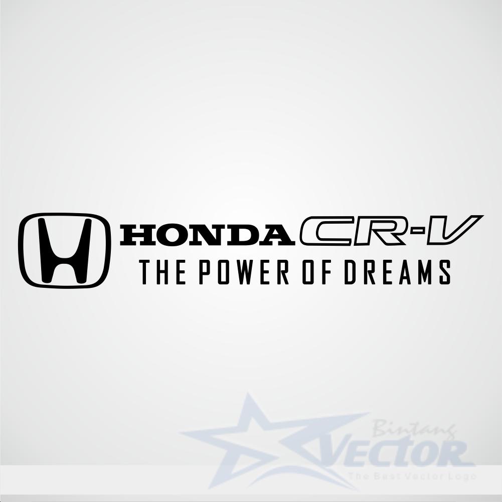 Honda CR V Logo Vector Cdr Download