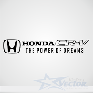 Honda CR-V Logo vector cdr Download