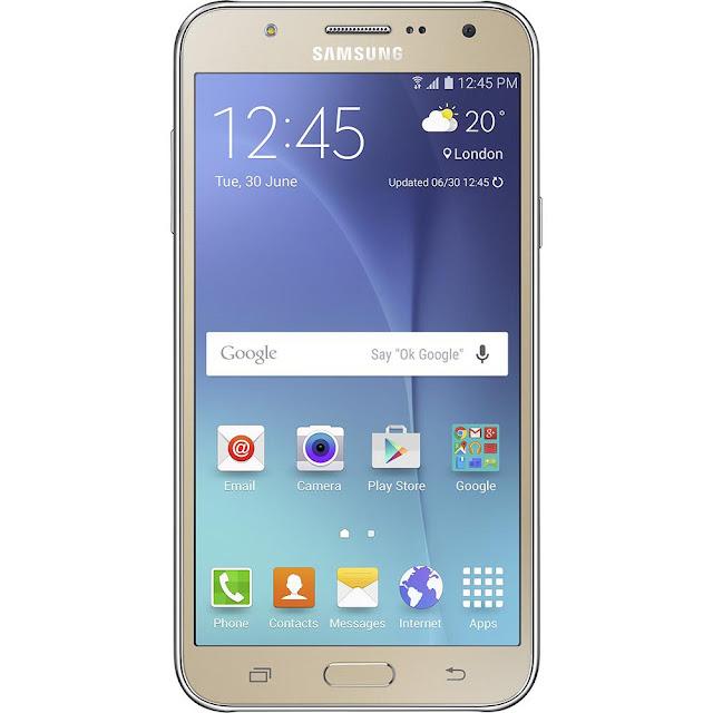 """Lojas Americanas Smartphone Samsung Galaxy J7 Android 5.1 Tela 5.5"""" Câmera 13MP"""