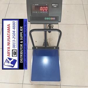 Jual Timbangan Laundry SONIC A12E - Cap 50kg + Pagar