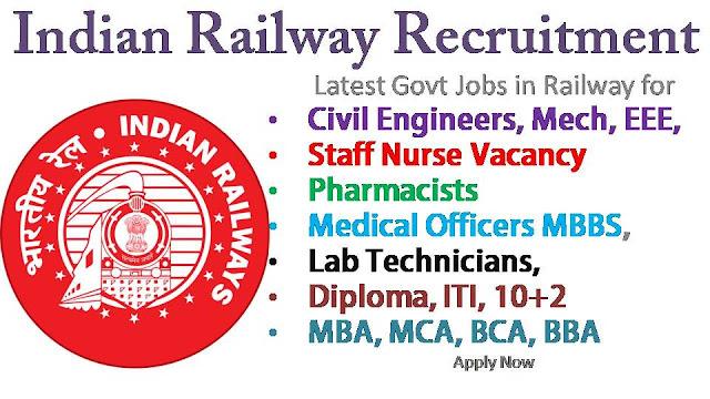 लवे भर्ती 2020 - सभी श्रेणियों के लिए रेलवे नौकरियां