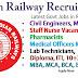 रेलवे भर्ती 2021 - सभी श्रेणियों के लिए रेलवे नौकरियां