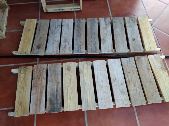 Partes horizontales del armario