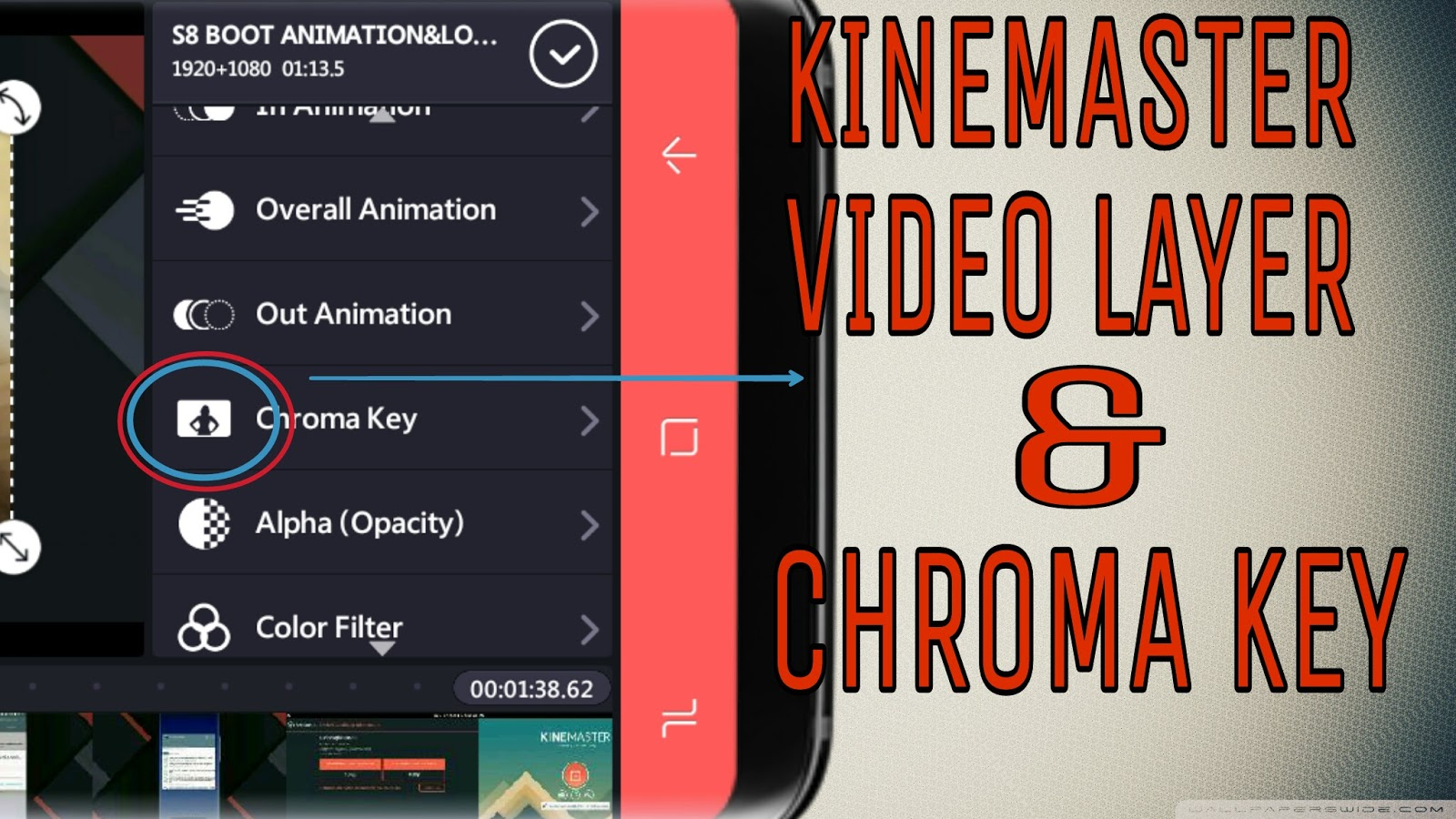 kinemaster with chroma key