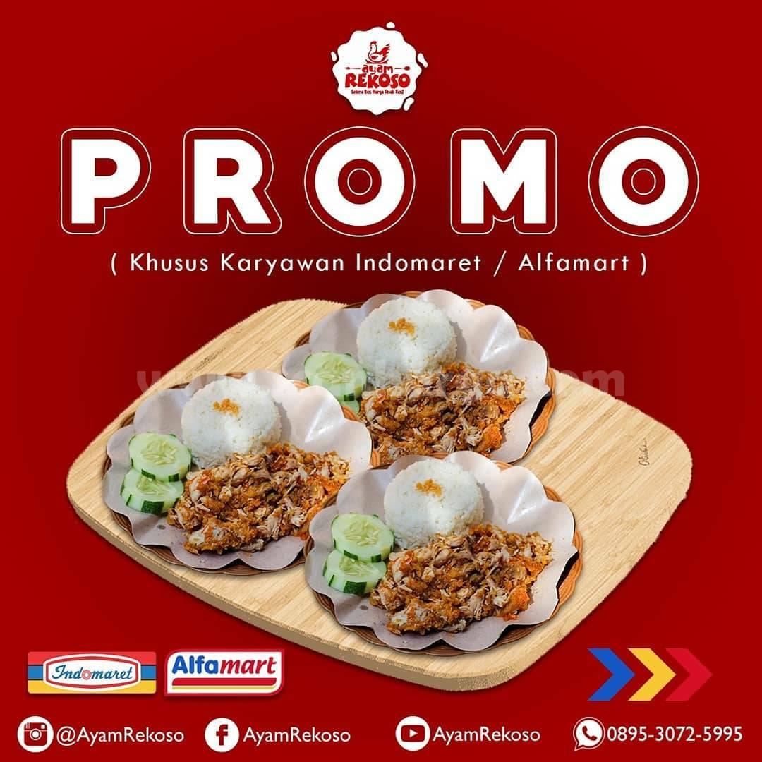 Promo AYAM REKOSO - Khusus Karyawan Indomaret & Alfamart 1