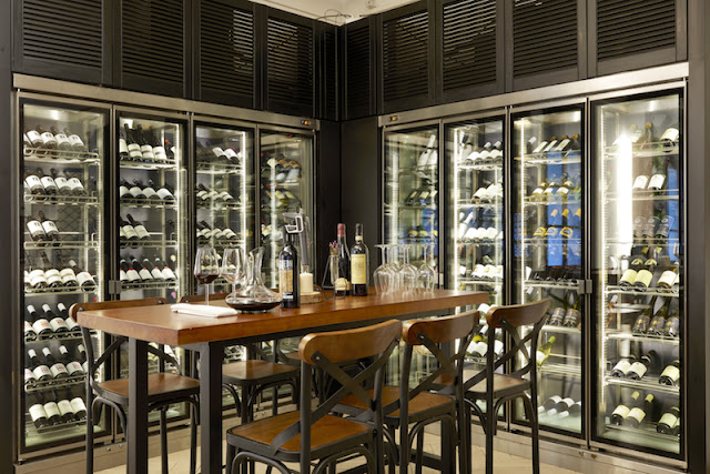 Install wine cellar cooling system to preserve wine