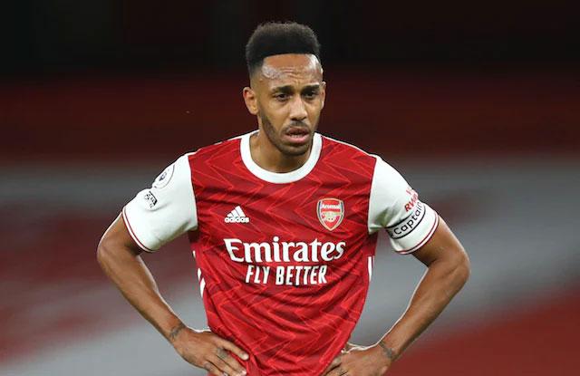 kapten Arsenal Aubameyang