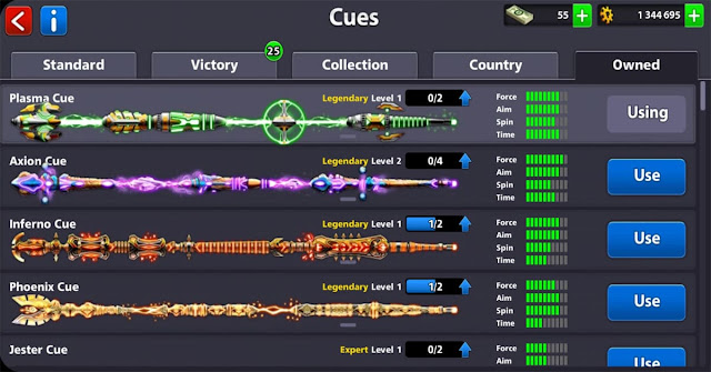 Giveaway 8 ball pool Legendary cue Free