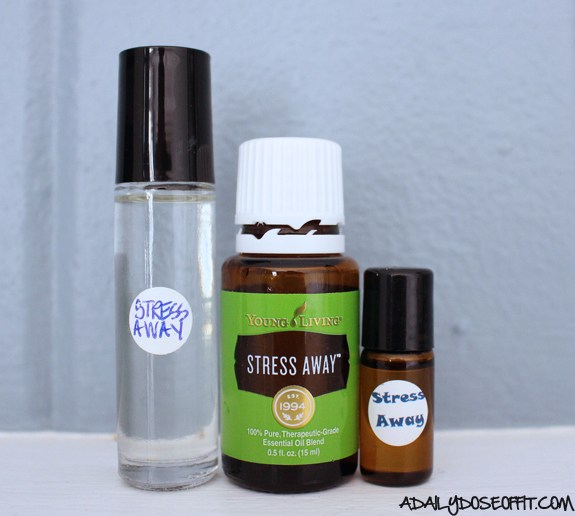 essential oils, roller ball, oil blends, fight stress with essential oils