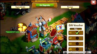 fv2ce, windmill, farm, machine, gold coins