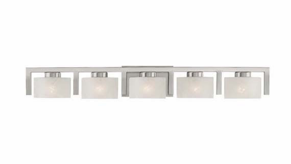 Bathroom Vanity Light Fixtures Brushed Nickels AyanaHouse - Brushed nickel bathroom light fixtures sale