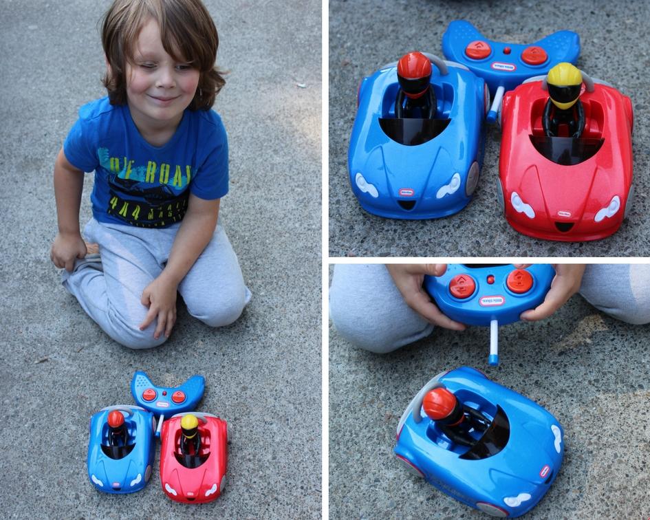 75a871a6b RC Fun with Little Tikes RC Wheels Bumper Cars