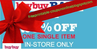 Free Printable Buybuy Baby Coupons