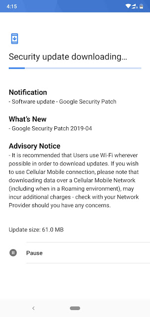Nokia 6.1 Plus receiving April 2019 Android Security update