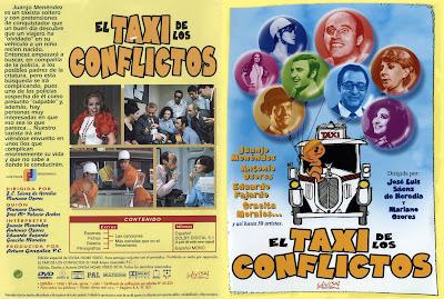Carátula dvd: El taxi de los conflictos (1969)