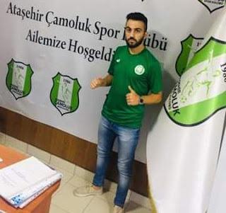 Ataşehir Çamolukspor'un transferi orta saha Salih Mert Aslan