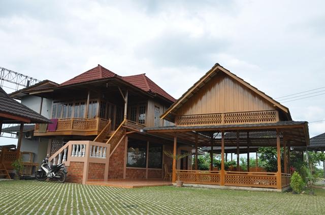 Jual Rumah Kayu I Rumah Panggung Palembang I 081373447722 ...