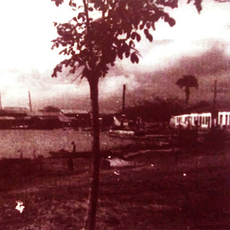 Foto do cais de Barra do Itabapona-RJ 1930