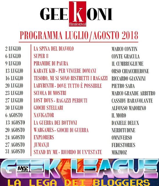 programma geekoni film festival