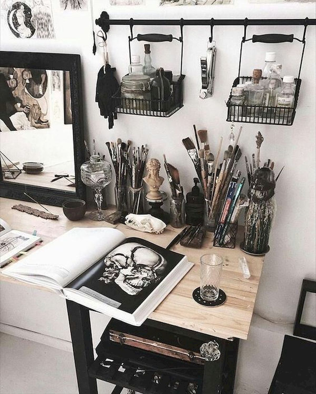 most popular art studio organization idea and decor