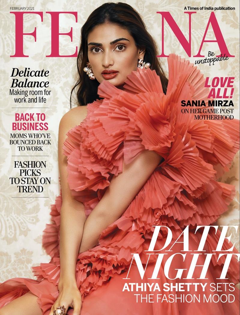 Athiya Shetty is stunning for Femina India February 2021