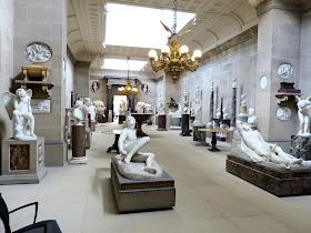 The Sculpture Gallery, Chatsworth © A Knowles (2014)
