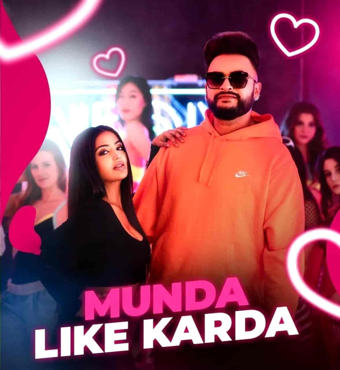 Munda Like Karda Punjabi Song Lyrics
