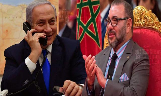 """نتنياهو يشكر المغرب على """"رغبته بصنع السلام"""" !"""