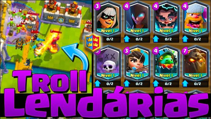 ▶️ Batalha de clãs com 16 Lendárias na arena! - 1