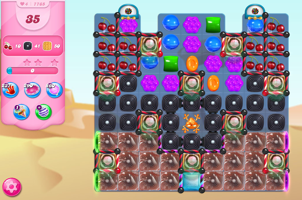 Candy Crush Saga level 7765